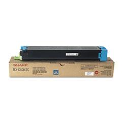 SHRMXC40NTC - Sharp MXC40NTC Toner, 10,000 Page-Yield, Cyan