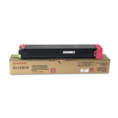 SHRMXC40NTM - Sharp MXC40NTM Toner, 10,000 Page-Yield, Magenta
