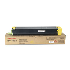 SHRMXC40NTY - Sharp MXC40NTY Toner, 10,000 Page-Yield, Yellow