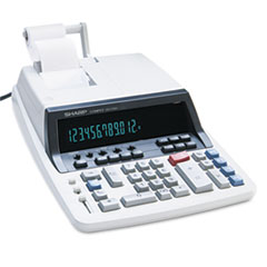 SHRQS2760H - Sharp® QS2760H Two-Color Commercial Ribbon Printing Calculator