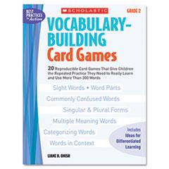 SHS0439554659 - Scholastic Vocabulary Building Card Games