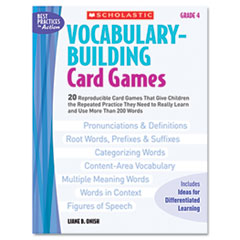 SHS0439573149 - Scholastic Vocabulary Building Card Games