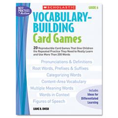 SHS0439578175 - Scholastic Vocabulary Building Card Games
