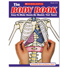 SHS0545048737 - Scholastic The Body Book: Easy-to-Make Hands-on Models That Teach