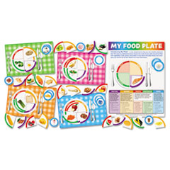 SHS0545417449 - Scholastic My Food Plate Bulletin Board Set