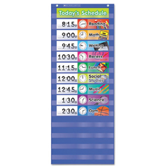 SHS511498 - Scholastic® Daily Schedule Pocket Chart