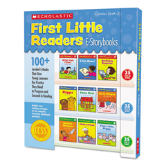 SHS552233 - Scholastic First Little Readers