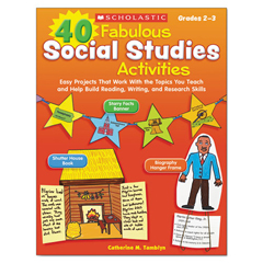 SHSSC531505 - Scholastic 40 Fabulous Social Studies Activities