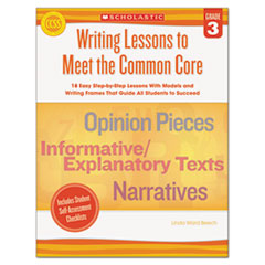 SHSSC539162 - Scholastic Writing Lessons To Meet the Common Core