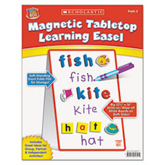SHSSC989357 - Scholastic Magnetic Tabletop Learning Easel