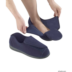 SIL101050204 - Silverts - Mens Extra Extra Wide Slippers