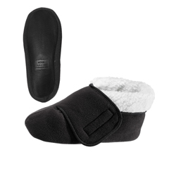 SIL101600106 - Silverts - Unisex Deep and Wide Diabetic Bootie Slipper