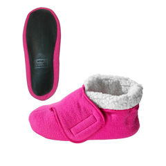 SIL101600301 - Silverts - Unisex Deep and Wide Diabetic Bootie Slipper