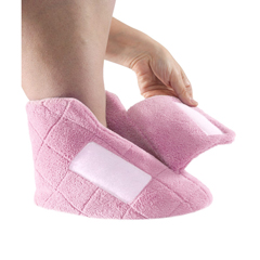 SIL103900101 - Silverts - Extra Wide Swollen Feet Slippers