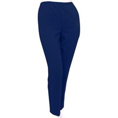 SIL130910304 - Silverts - Womens Elastic Waist Polyester Pants 2 Pockets