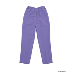 SIL130911206 - Silverts - Womens Elastic Waist Polyester Pants 2 Pockets