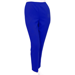 SIL130913504 - Silverts - Womens Elastic Waist Polyester Pants 2 Pockets
