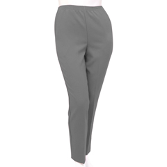 SIL131001005 - Silverts - Petite Polyester Elastic Waist Pull On Pants For Mature Women
