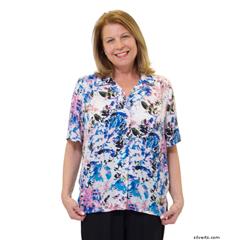 SIL132500101 - SilvertsWomens Regular Short Sleeve Blouse