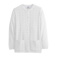 SIL132600105 - SilvertsWomens Cardigan Sweater With Pockets