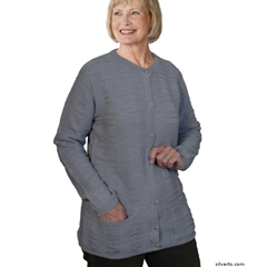 SIL132611406 - SilvertsWomens Cardigan Sweater With Pockets