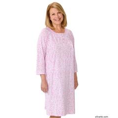 SIL161500201 - SilvertsWomens Short Nightgown
