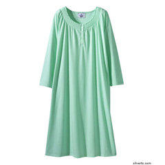SIL161500401 - SilvertsWomens Short Nightgown