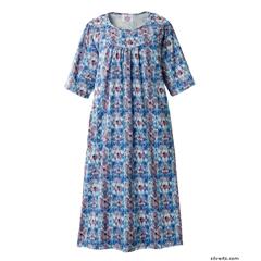 SIL210001005 - SilvertsWomens Adaptive Open Back Dress