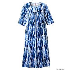 SIL210001602 - SilvertsWomens Adaptive Open Back Dress