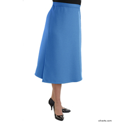 SIL230102102 - Silverts - Adaptive Arthritis Wrap Around Skirt With Adjustable Closure