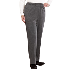 SIL231100103 - Silverts - Womens Soft Knit Adaptive Wheelchair Pants