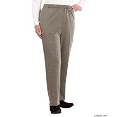 SIL231110701 - Silverts - Womens Soft Knit Adaptive Wheelchair Pants
