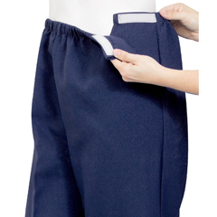 SIL231200503 - Silverts - Soft Knit Arthritis Pants With Easy Access Straps