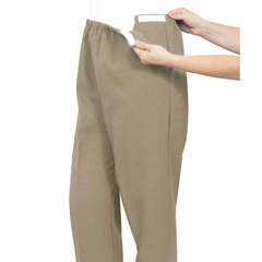 SIL231210601 - Silverts - Soft Knit Arthritis Pants With Easy Access Straps