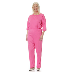 SIL233100105 - Silverts - Womens Adaptive Alzheimers Anti Strip Jumpsuits