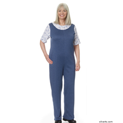 SIL233200103 - Silverts - Womens Adaptive Alzheimers Clothing Antistrip Suits Pajamas