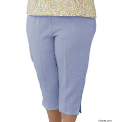 SIL233430102 - Silverts - Adaptive Capri Pants