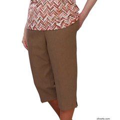 SIL233430801 - Silverts - Adaptive Capri Pants