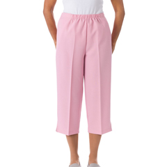 SIL233511401 - Silverts - Womens Open Side Arthritis Adaptive Capri Short Pants