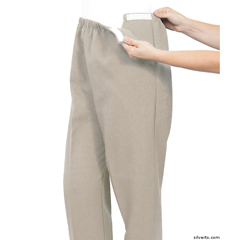 SIL234210401 - Silverts - Womens Stretchy Knit Arthritis Pants