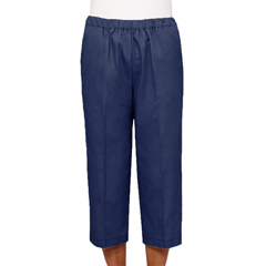 SIL234300305 - Silverts - Womens Adaptive Cotton Capri Pants
