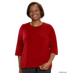 SIL234600102 - Silverts - Adaptive Sweater Top For Women