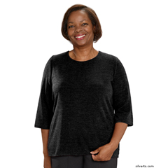 SIL234610402 - Silverts - Adaptive Sweater Top For Women