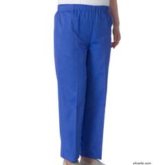 SIL234800103 - Silverts - Womens Cotton Adaptive Arthritis Pants