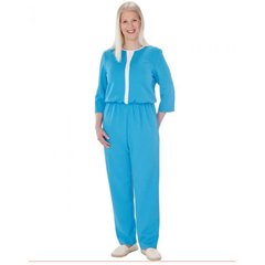 SIL234600201 - Silverts - Womens Stylish, Extra-Secure Anti-Strip Jumpsuit