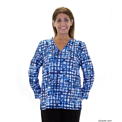 SIL236800302 - Silverts - Adaptive Blouses For Women