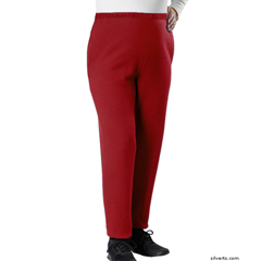 SIL240000105 - Silverts - Adaptive Open Side Fleece Pants For Arthritis