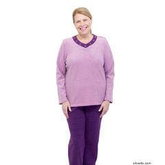 SIL245400304 - Silverts - Womens Adaptive Tracksuit Set / Sweat Suits