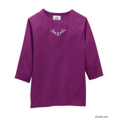 SIL247011902 - Silverts - Womens Adaptive Clothing Top