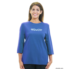 SIL247011102 - Silverts - Womens Adaptive Clothing Top